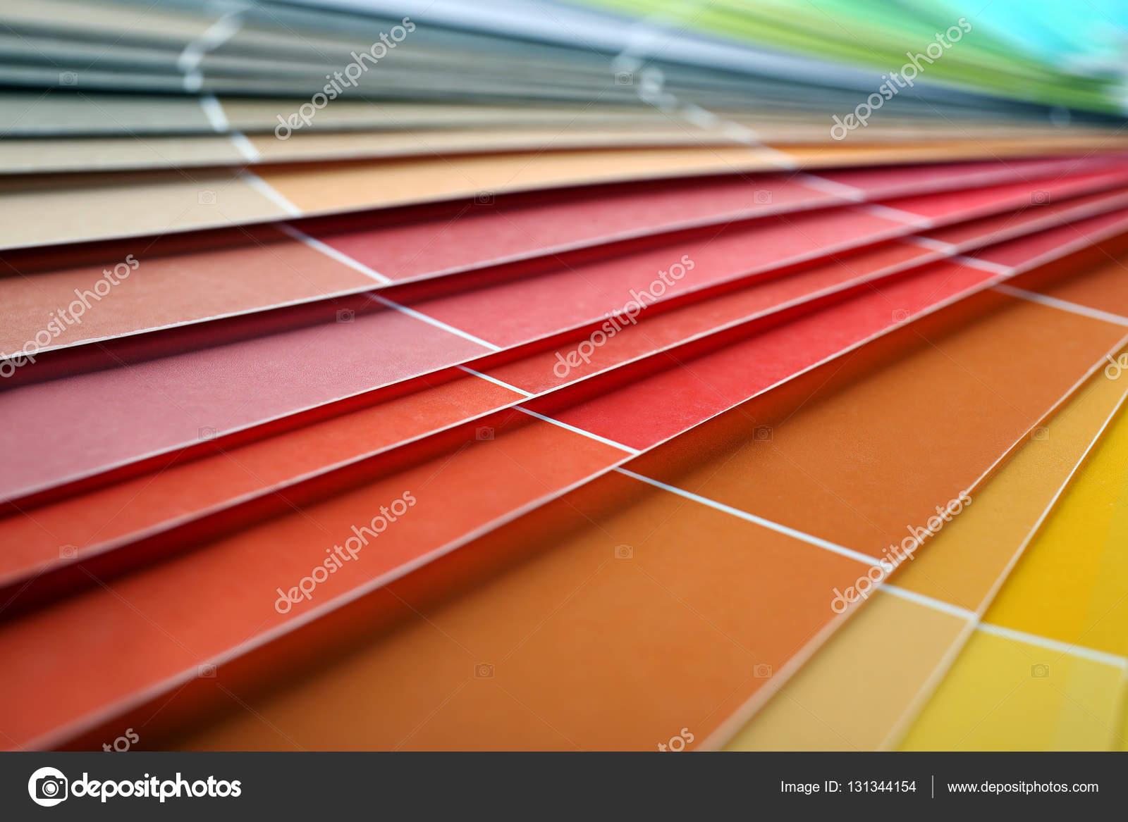 Libro de muestras de color — Foto de stock © belchonock #131344154
