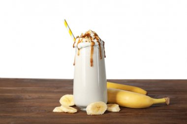 Milk shake with banana