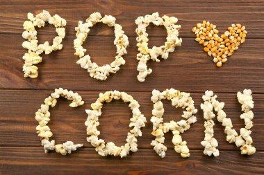 Words pop corn