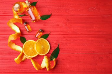 Aroma oils with citrus