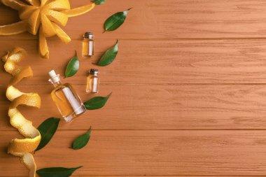 Aroma oils with citrus