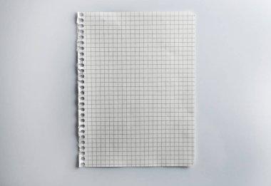 Empty paper texture