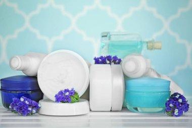 Set of nutritious creams