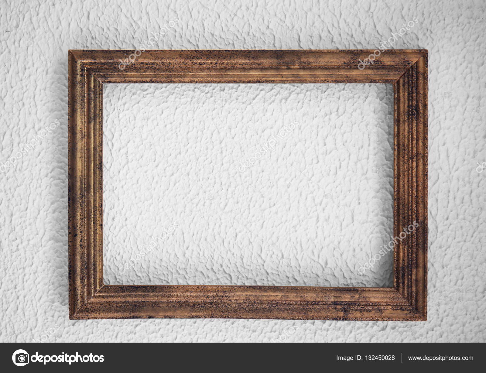 Marco de madera vintage foto de stock belchonock - Marcos de fotos madera ...
