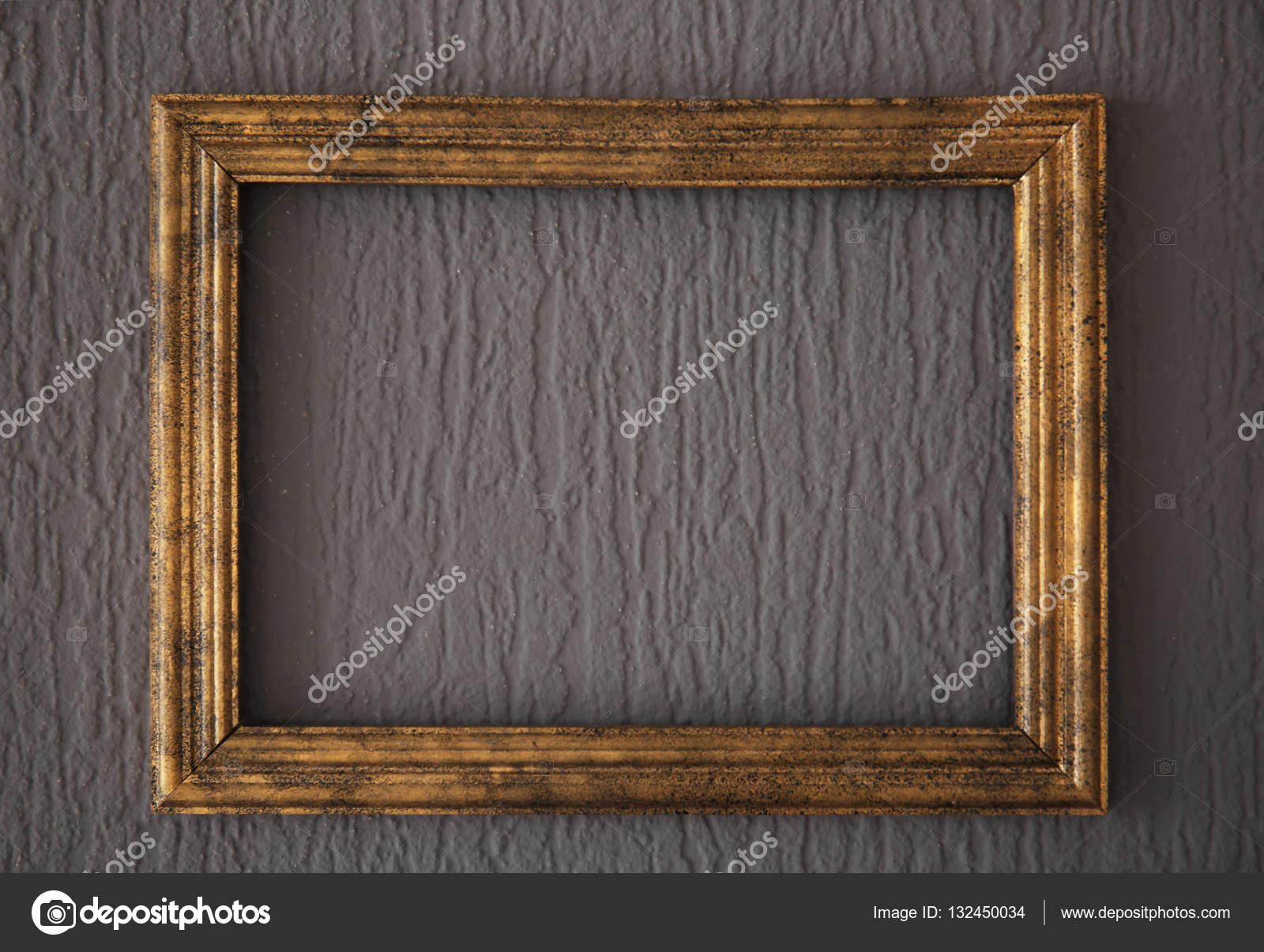 wooden vintage frame stock photo belchonock 132450034. Black Bedroom Furniture Sets. Home Design Ideas