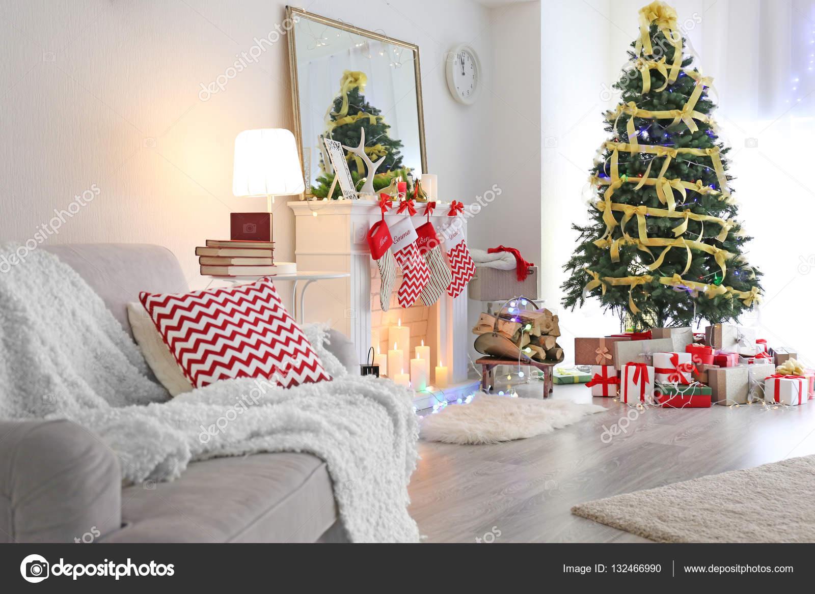 Interieur van de prachtige woonkamer — Stockfoto © belchonock #132466990