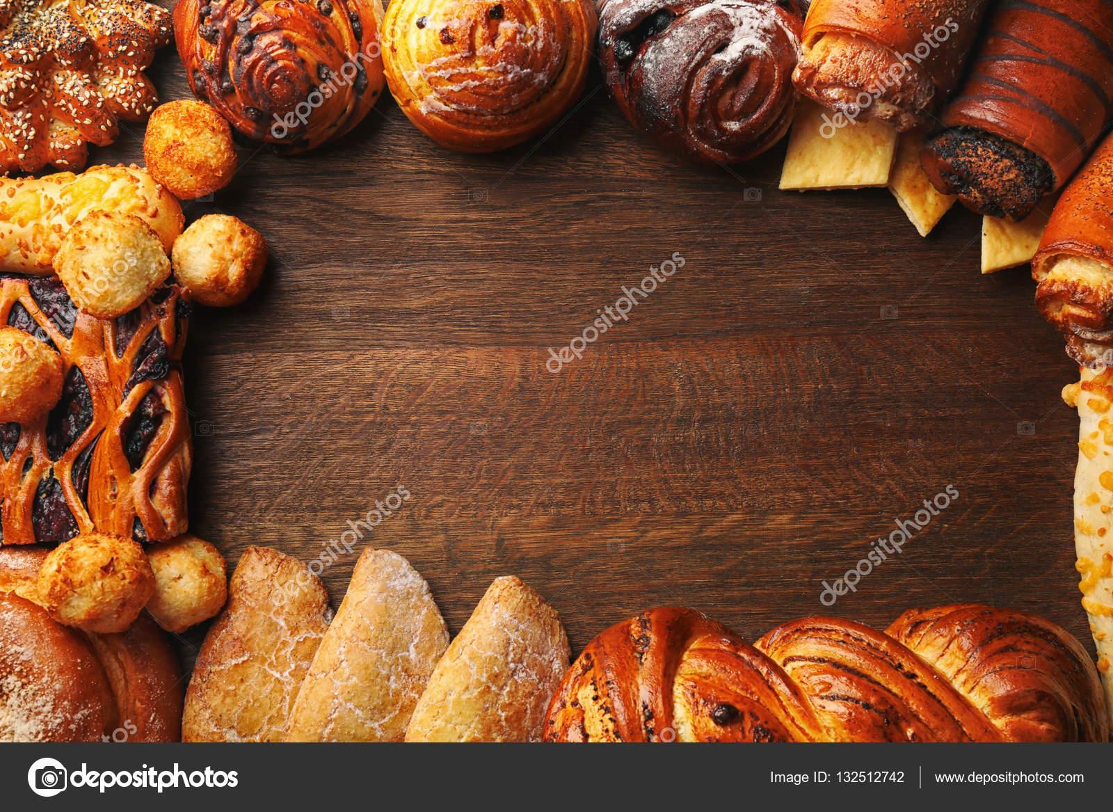 Marco de pastas frescas variadas — Fotos de Stock © belchonock ...