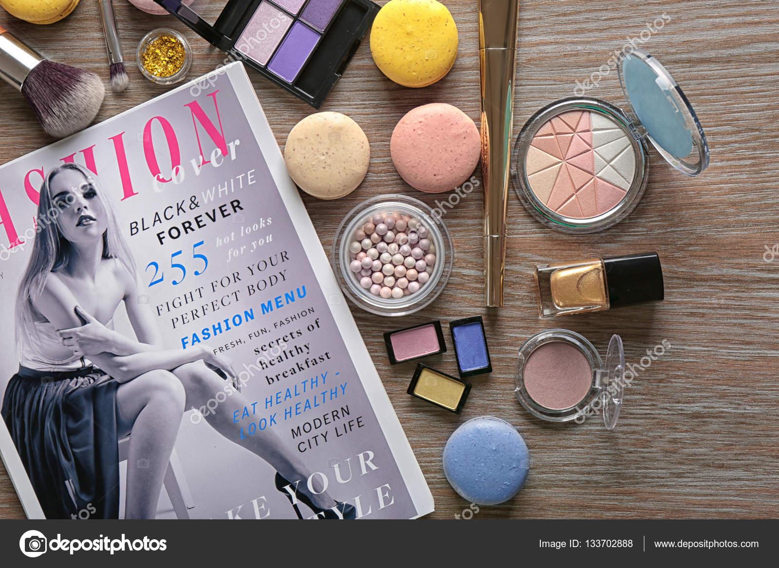 Косметика журнал фото