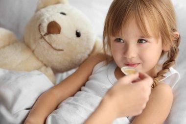 Small sick girl