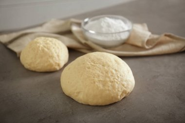 Raw dough for bakery