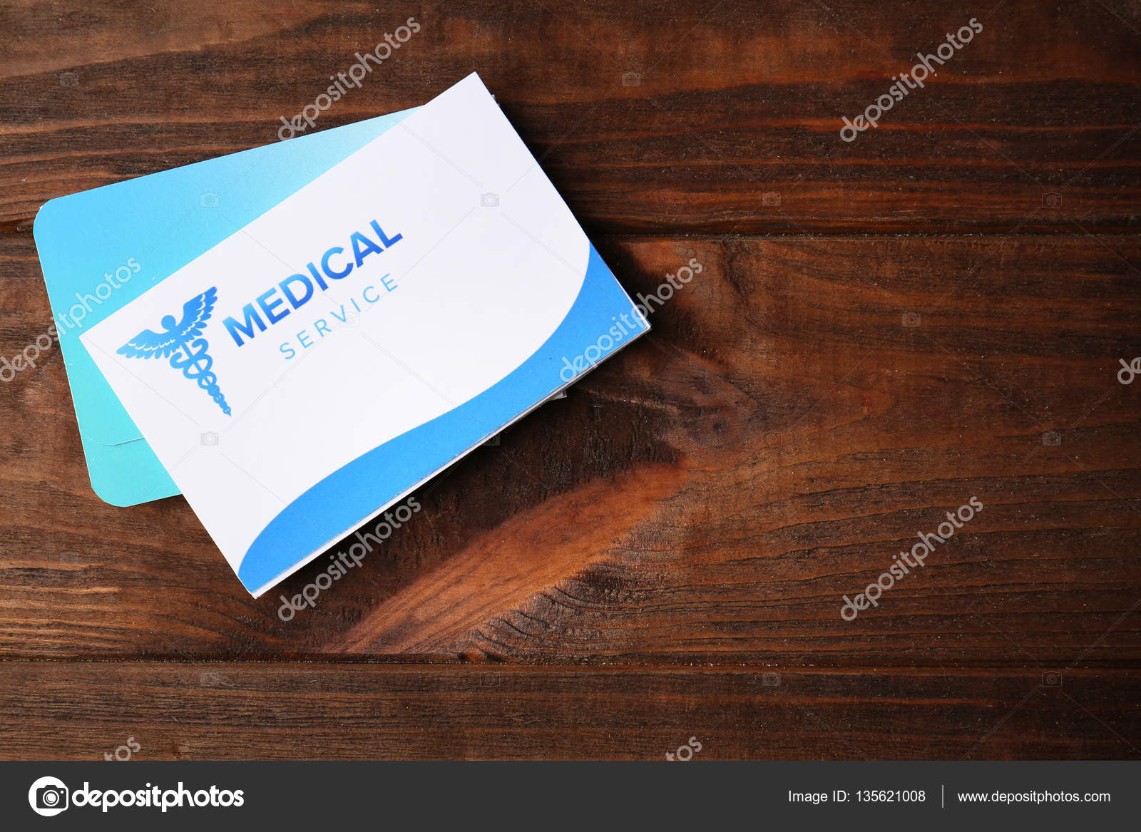 medical business cards — Stock Photo © belchonock #135621008