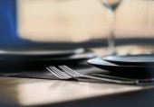 Elegant table appointments