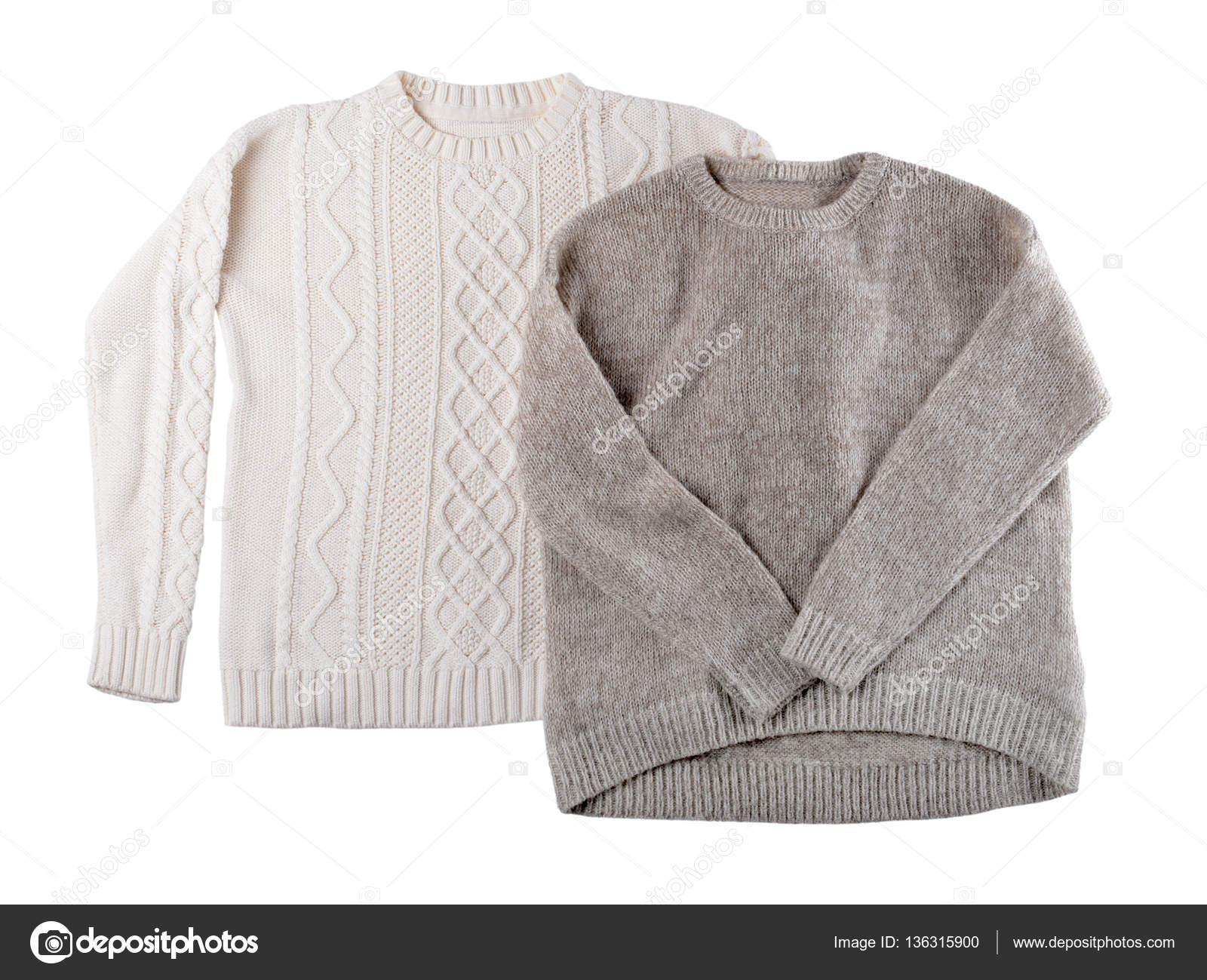 98ef4eab58b9 Ζεστά πλεκτά πουλόβερ — Φωτογραφία Αρχείου © belchonock  136315900