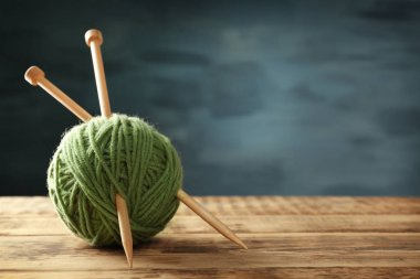Ball of knitting yarn
