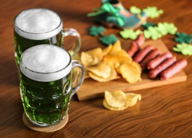 St. Patrick Day concept with beer