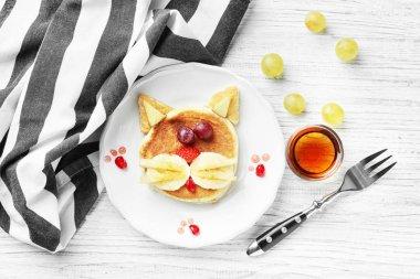creative homemade pancake