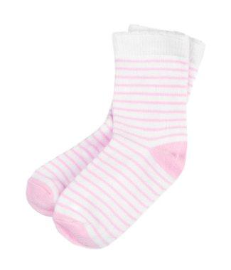 striped baby socks