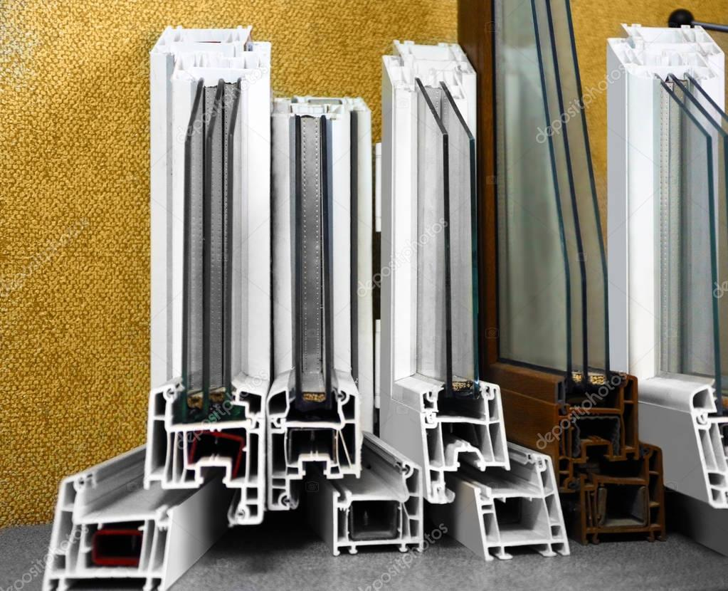 Set of window profile samples
