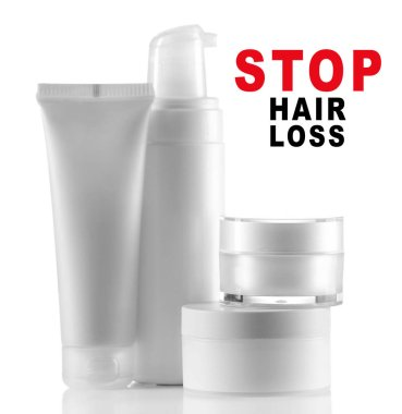 Text STOP HAIR LOSS