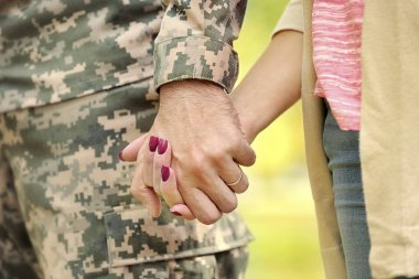 Soldier reunited with wife