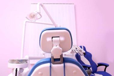 Dental chair in clinic
