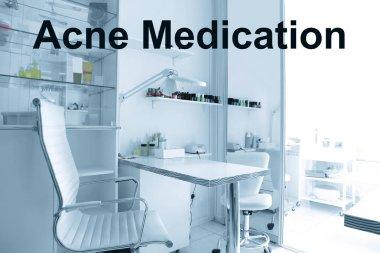 Modern cosmetologist cabinet