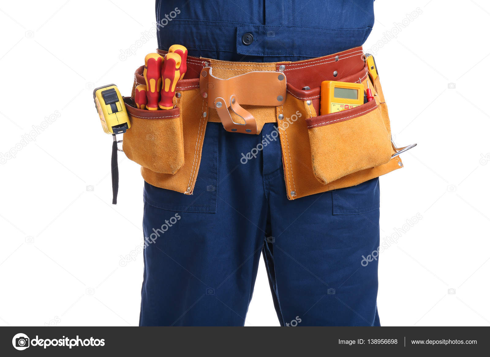 Elettricista con utensili speciali u2014 foto stock © belchonock #138956698