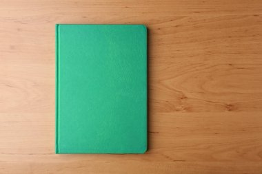 Green notebook for branding