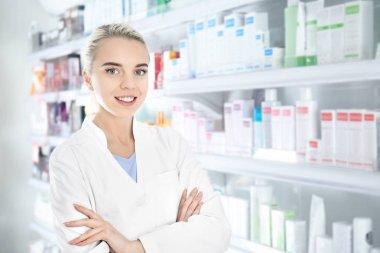 Female shop assistant