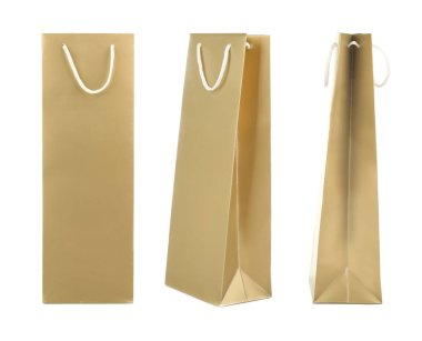 Different views of paper bag
