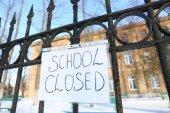 Scuola chiusa a causa di forti nevicate