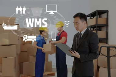 Warehouse management system concept