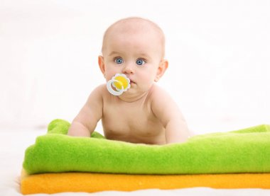 Cute funny baby