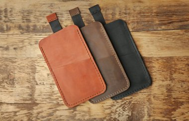 Leather cases for mobile phone