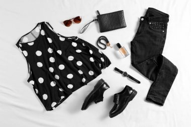 Modern casual clothes