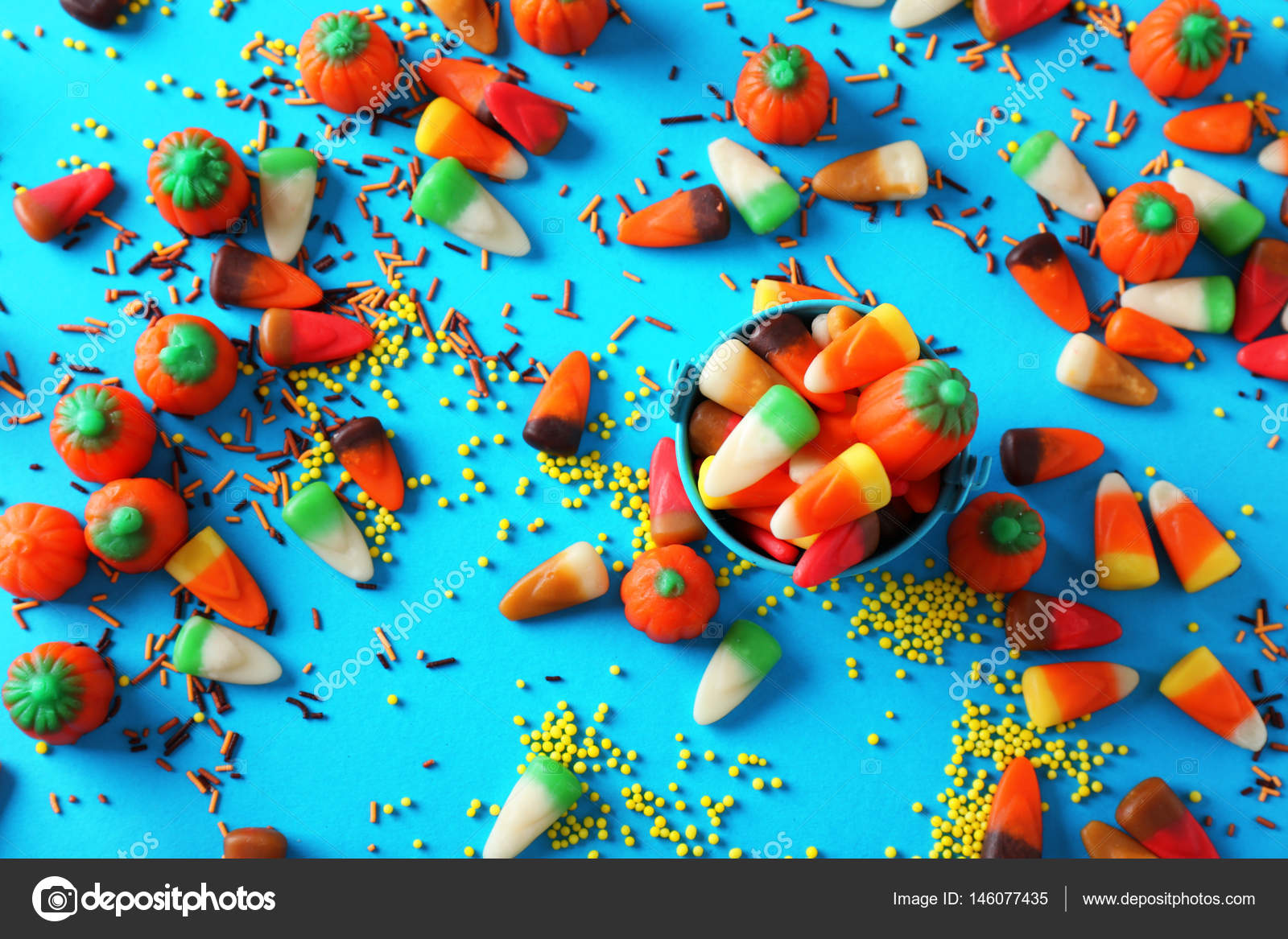 Colourful candies and sprinkles — Stock Photo © belchonock