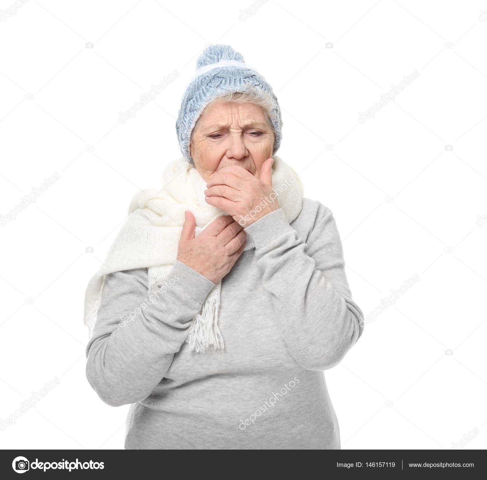 femme agee chaude