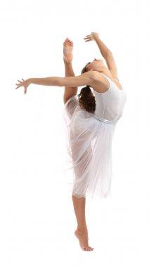 Beautiful young dancer