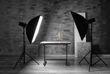 Modern photography studio