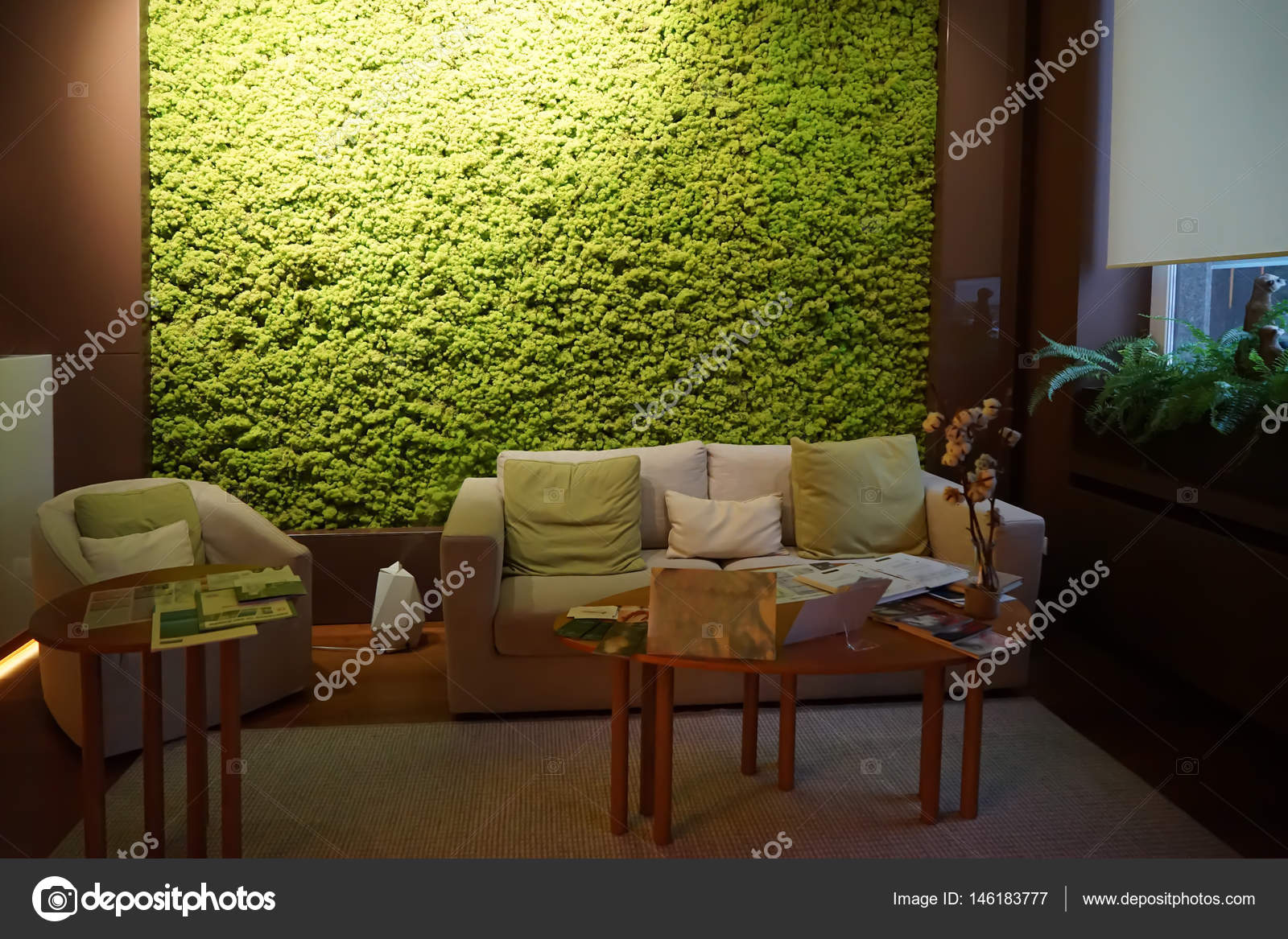 Interior Of Spa Salon Stock Photo C Belchonock 146183777