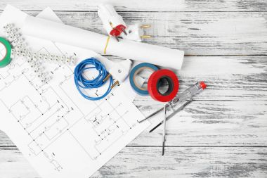 Electrician tools and schemes