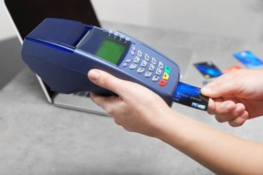 Payment operation with credit card