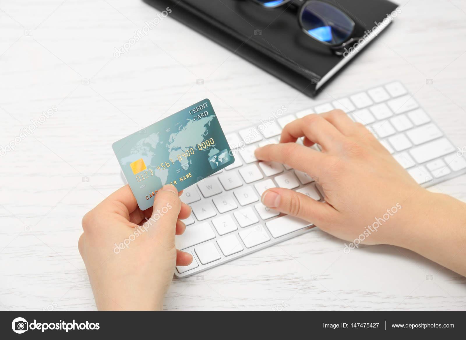 Заказ кредитной карты через интернет