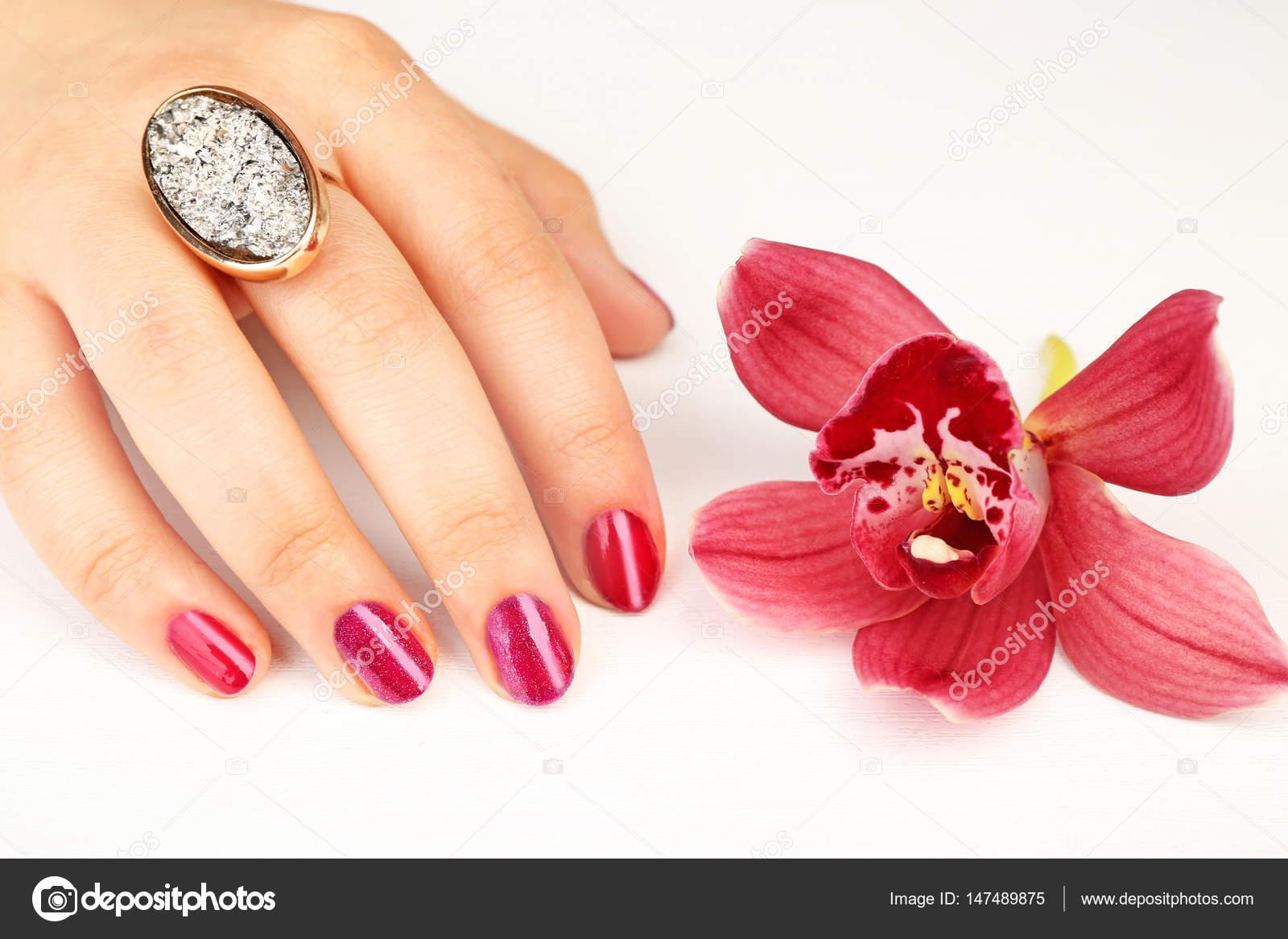 Nagel-Kunst-Konzept — Stockfoto © belchonock #147489875