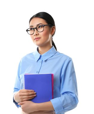 Portrait of Asian female teacher