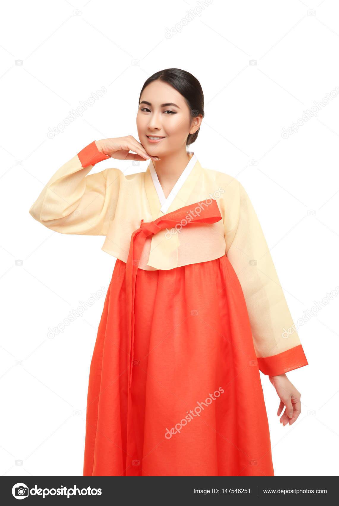 Traditionnel — Femme En Coréen Costume Photographie Belchonock f6Yb7gy
