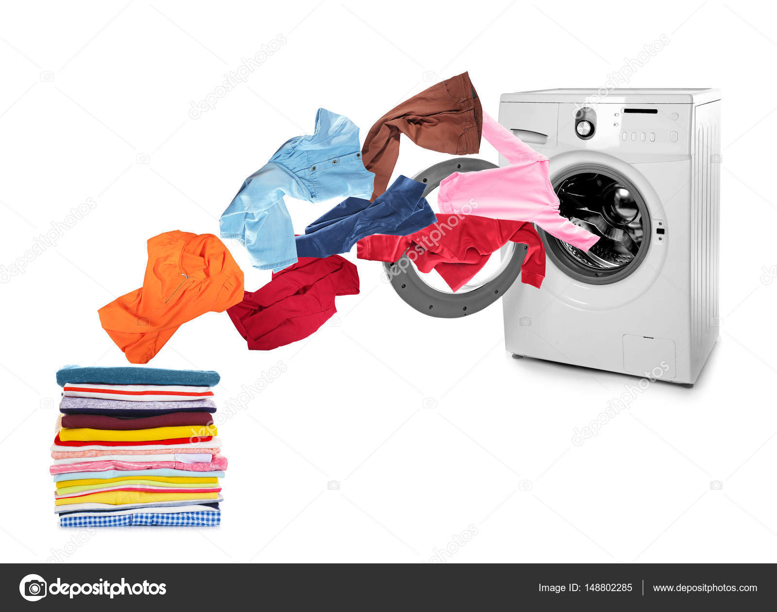 washing machine clothes