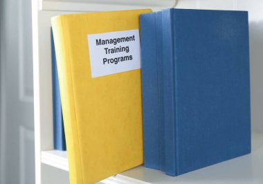 Book of MANAGEMENT TRAINING PROGRAMS
