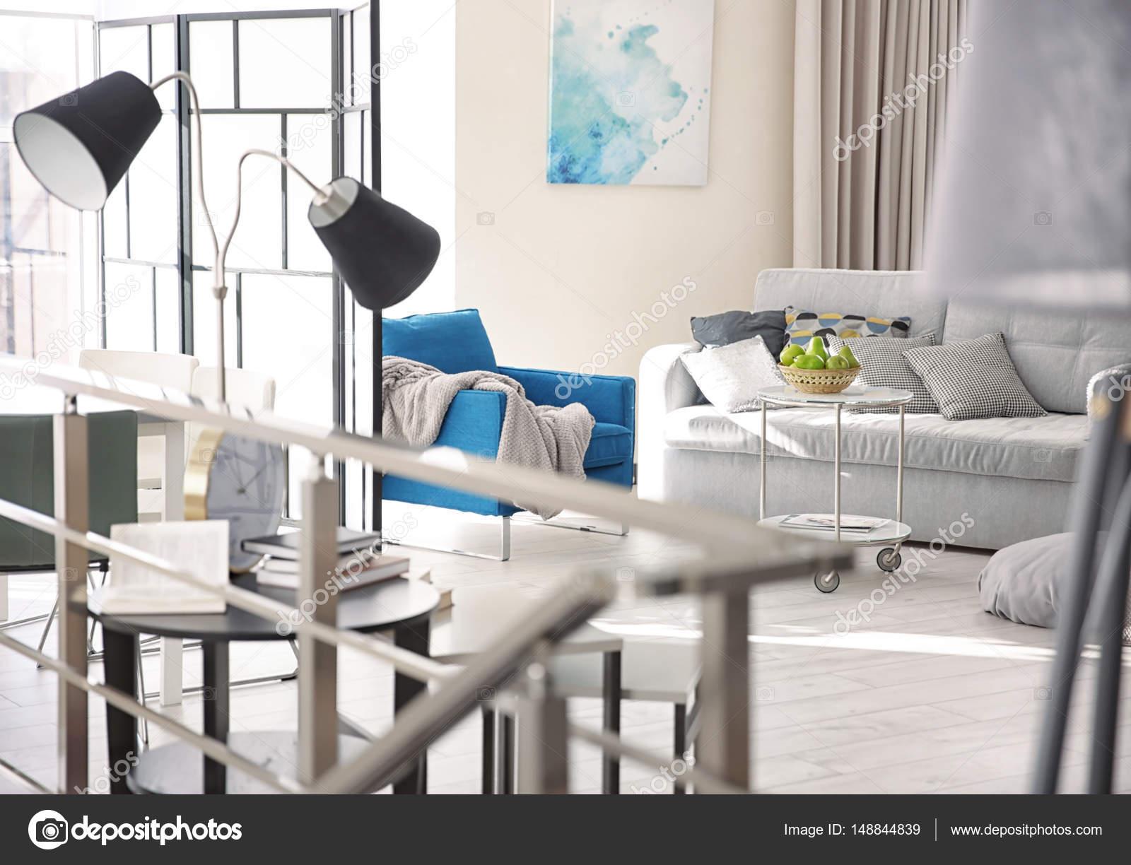 knusse woonkamer — Stockfoto © belchonock #148844839