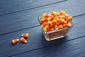 Barevné Halloween candy kukuřice